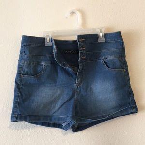 Women's Tinseltown Highwaisted Denim shorts
